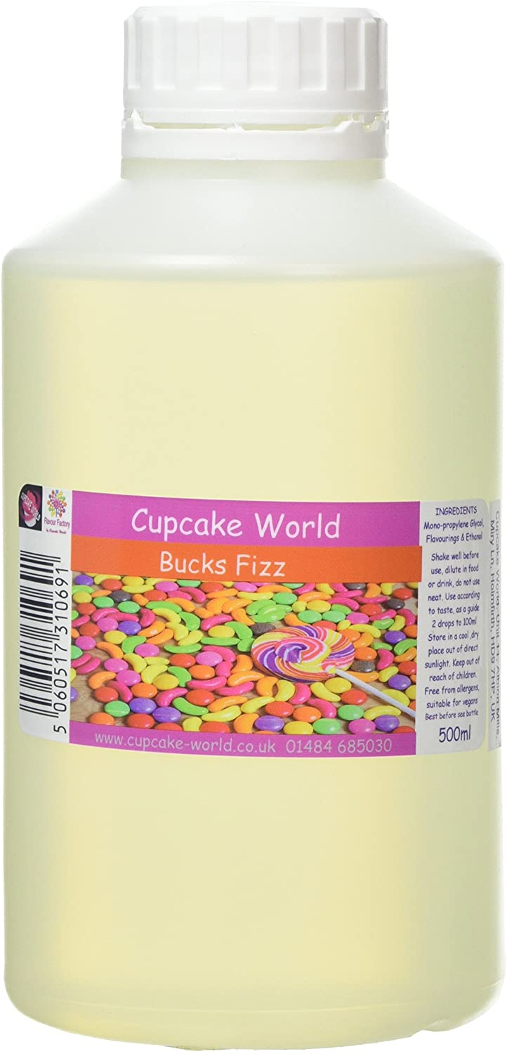 C.World - Bucks Fizz Intense Food Flavouring (500 ml) /Food