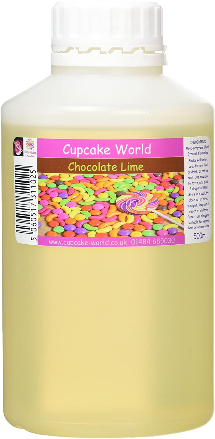 C.World - Chocolate Lime Intense Food Flavouring (500 ml) /Food