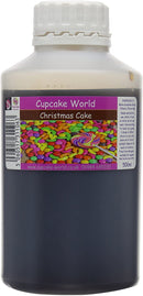 C.World - Christmas Cake Intense Food Flavouring (500 ml) /Food