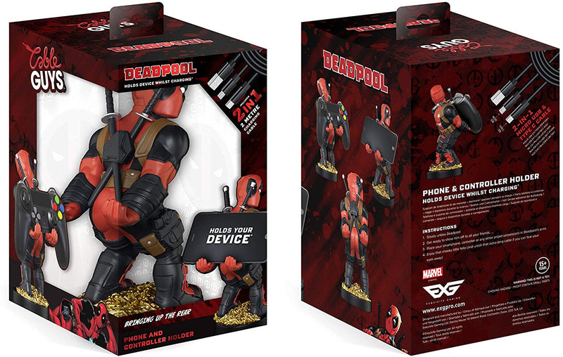 Cable Guys Controller Holder - Deadpool (NEW) /Merch