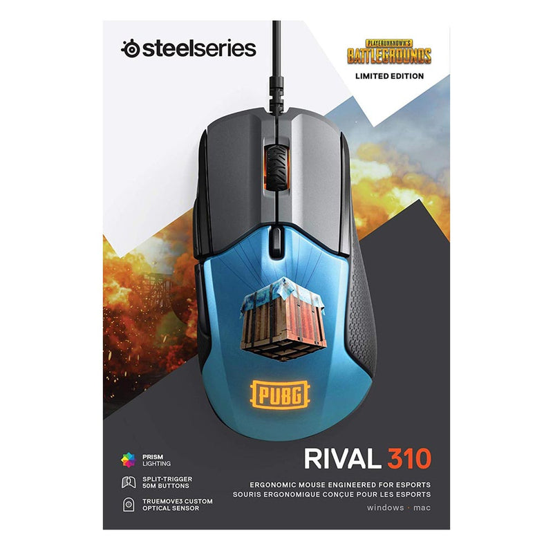 SteelSeries Rival 310 Gaming Mouse (PUBG Edition) /PC