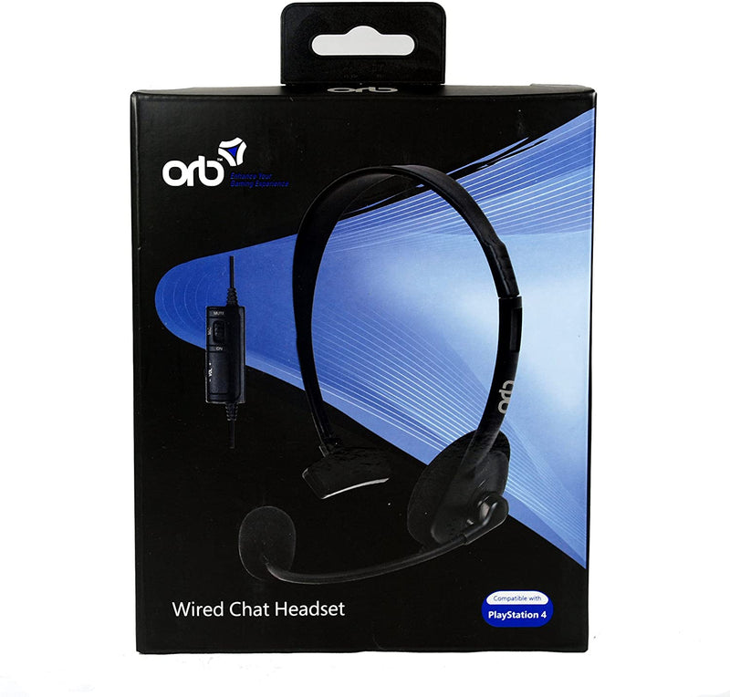 Wired Chat Headset (ORB) /PS4