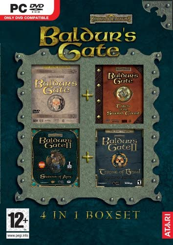 Baldurs Gate Compilation (1+2 + adds)/PC
