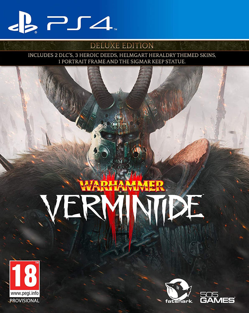 Warhammer: Vermintide II (2) - Deluxe Edition /PS4