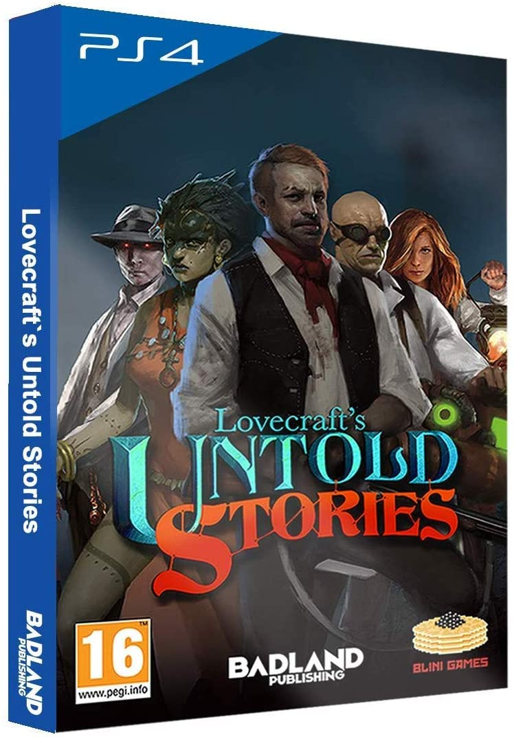 Lovecraft's Untold Stories - Collector's Edition /PS4