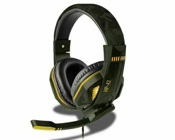 Steelplay - Wired Headset - HP43 (GREEN CAMO) (Multi) /PS4
