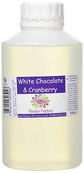 White Chocolate and Cranberry Intense Food Flavouring (500 ml) /Food