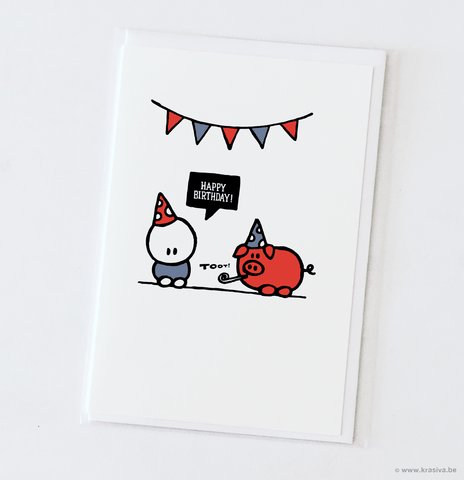 Heroes for ghosts Birthday Card