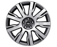 "Land Rover Discovery - ALLOY WHEEL - 21"" STYLE 9002, 9 SPOKE, DIAMOND TURNED FINISH"