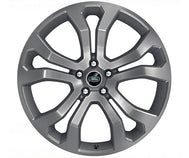 "Land Rover Range Rover Sport - ALLOY WHEEL - 22"" STYLE 5014, 5 SPLIT-SPOKE, FORGED, FULLY PAINTED WITH TECHNICAL GREY GLOSS"