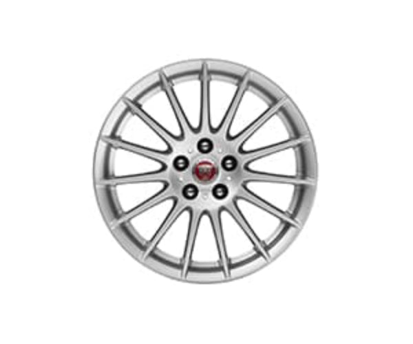 "Jaguar XF Sportbrake Alloy Wheel - 17"" Style 1016, 15 spoke, Silver"