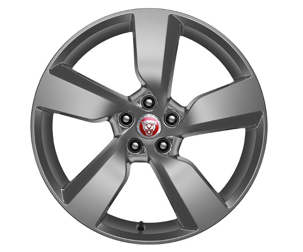 "Jaguar E-Pace Alloy Wheel - 19"" Style 5049, 5 spoke, Satin Dark Grey"