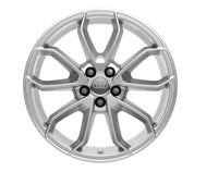 "Audi A1 17"" 5-arm Carabus design alloy wheel - Brilliant Silver"