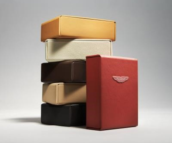 Aston Martin Key Pouch & Presentation Box Leather