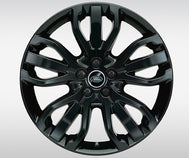 "Land Rover Range Rover Sport - ALLOY WHEEL - 21"" STYLE 5007, 5 SPLIT-SPOKE, FORGED, GLOSS BLACK"