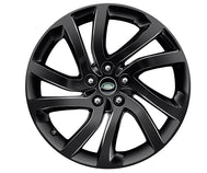 "Land Rover Discovery - ALLOY WHEEL - 20"" STYLE 5011, 5 SPLIT-SPOKE, GLOSS BLACK"
