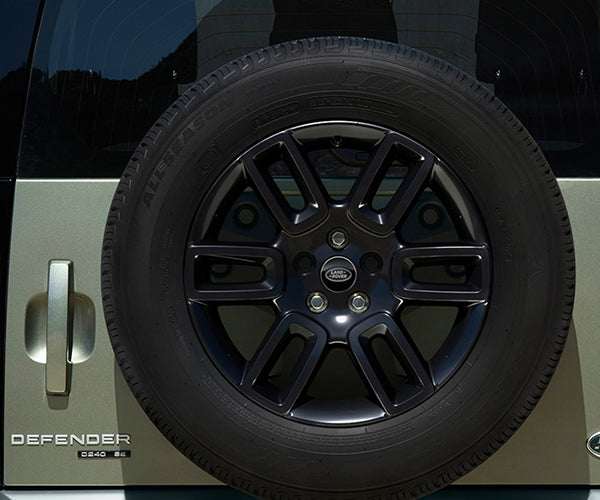 "Land Rover New Defender - ALLOY WHEEL - 19"" STYLE 6010, 6 SPOKE, GLOSS BLACK"