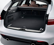 Jaguar XF Sportbrake Loadspace Luxury Carpet Mat - Ebony