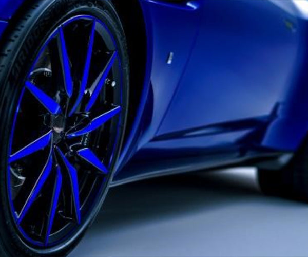 "Aston Martin DB11 20"" 10-Spoke Gloss Black Wheel - Blue Tint (Contact us Direct)"