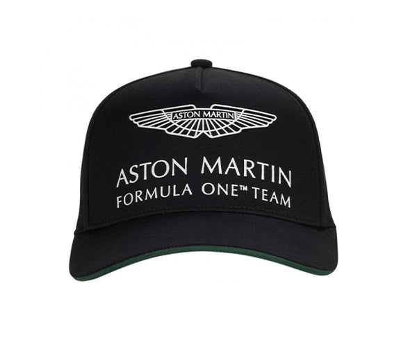 Aston Martin F1 OFFICAL DRIVER LS CAP - BLACK - ADULTS