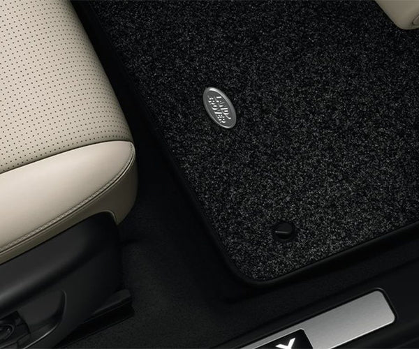 Land Rover Discovery Sport - LUXURY CARPET MAT SET - EBONY, RHD, MANUAL, 20MY ONWARDS