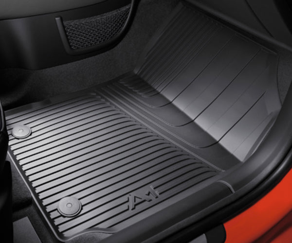 Audi A1 Rubber Rear Mats - 2 Piece Set