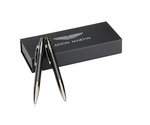 Aston Martin - CARBON PEN AND PENCIL SET