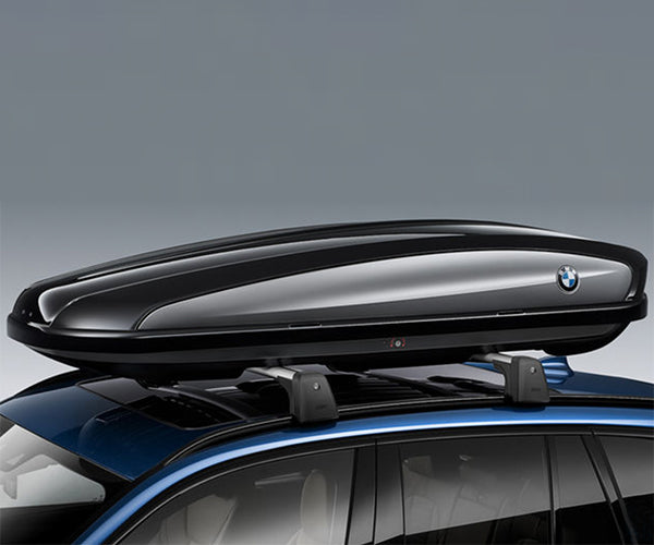 BMW 1 Series Roof Box 320 black/titanium silver