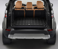 Land Rover Discovery - LOADSPACE RUBBER MAT - EBONY, WITH REAR AIR CONDITIONING