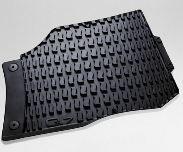 Audi Q7 Rear Rubber Floor Mats