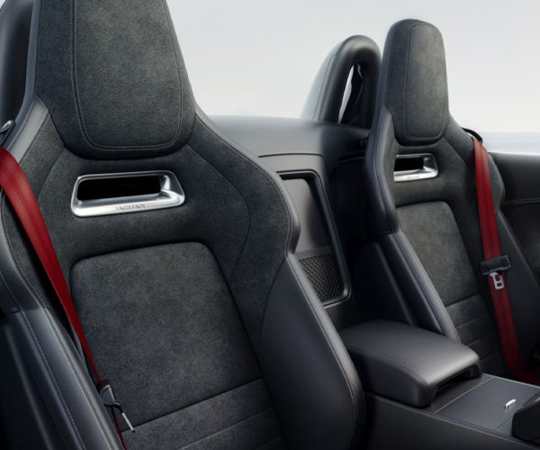 Jaguar F-Type Seatbelt - Red