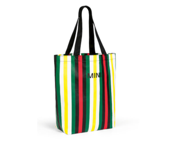 MINI Striped Shopper Bag