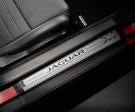 Jaguar F-Type Sill Treadplates - Union Jack