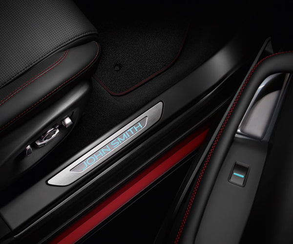 Jaguar E-Pace Sill Treadplates - Personalised, Illuminated, Ebony