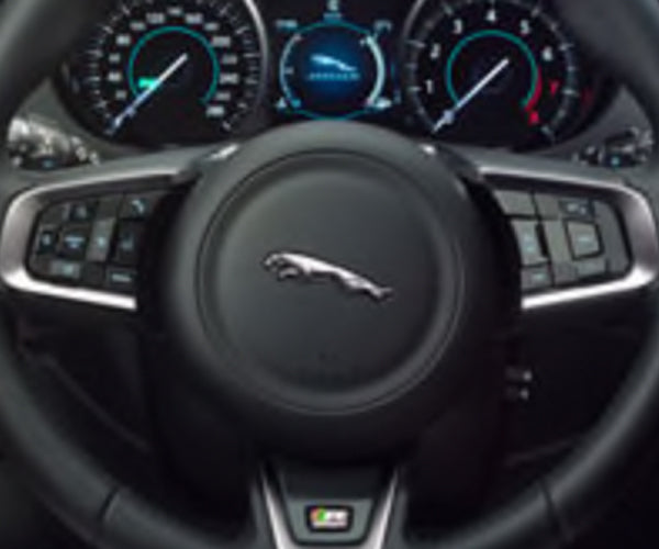 Jaguar F-Pace R-Sport Branded Multi-Function Steering Wheel - Manual