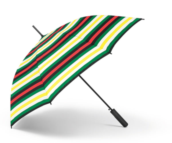 MINI Striped Walking Stick Umbrella
