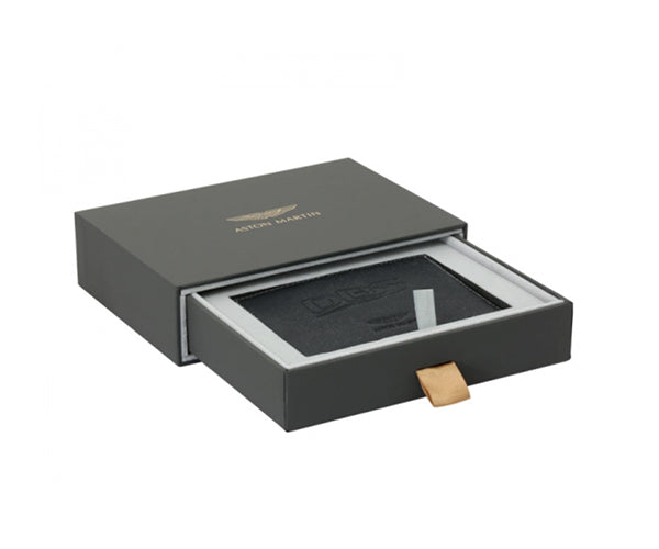 Aston Martin - DBS LEATHER CREDIT CARD WALLET - BLACK