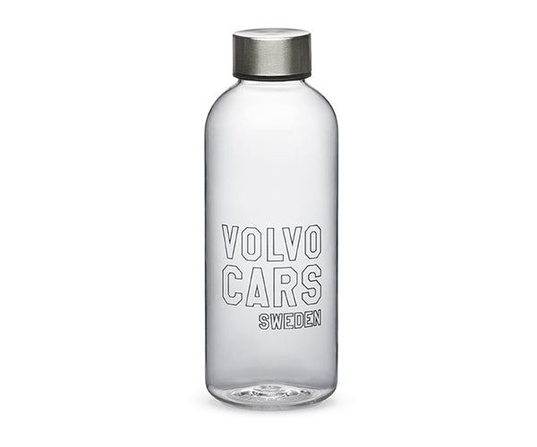 Volvo Water Bottle, Clear