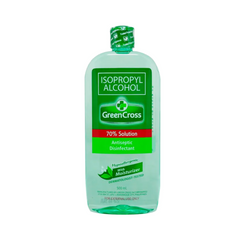Green Cross 70% Isopropyl Alcohol with moisturizer - 500ml