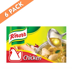 Knorr Chicken Cubes 60g Pantry size