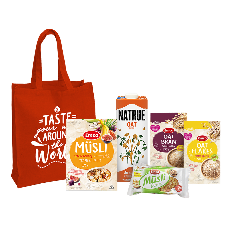 Healthy Breakfast Favorites Gift Bundle Set
