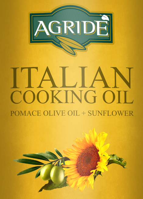 Agride Italian Cooking Oil 5L - Foodservice Use - ITALY