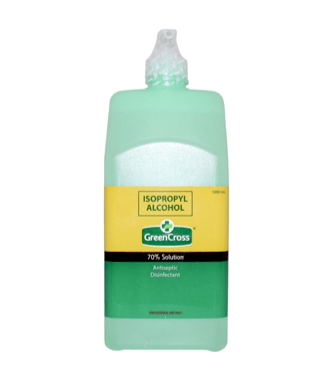 Green Cross 70% Isopropyl  PUMP - 1L