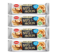 EMCO High Protein and Peanut Butter Bar 40g x 4