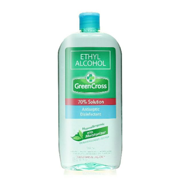 Green Cross 70% Ethyl - 500ml