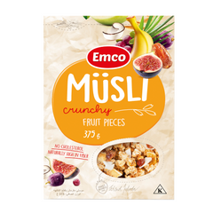 Musli Crunchy Oat Cereal with Fruit Pieces 375g