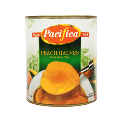 Pacifica Peach Halves Choice 825g