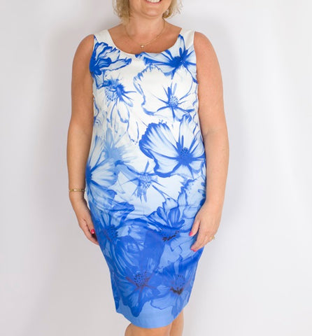 Pomodoro Contour Dress Navy
