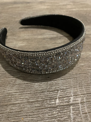 Park Lane Crystal Hair Band Silver
