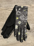 Patterned Gloves Touchscreen Compatible